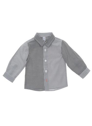 Panço Uzun Kollu Gömlek 19112090100 Siyah